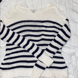 American Eagle striped knit sweater
